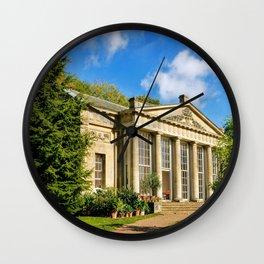 Temple Greenhouse (V2) Wall Clock