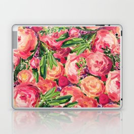 Pretty Peonies Laptop & iPad Skin