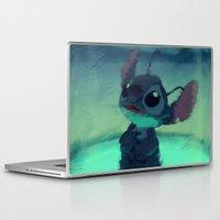 stitch Laptop & iPad Skins featuring Stitch by Princess Goldilocks