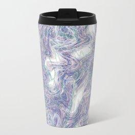 warped purple Travel Mug