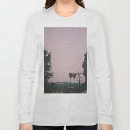 Rainy Hollywood - a rare sight Long Sleeve T-shirt