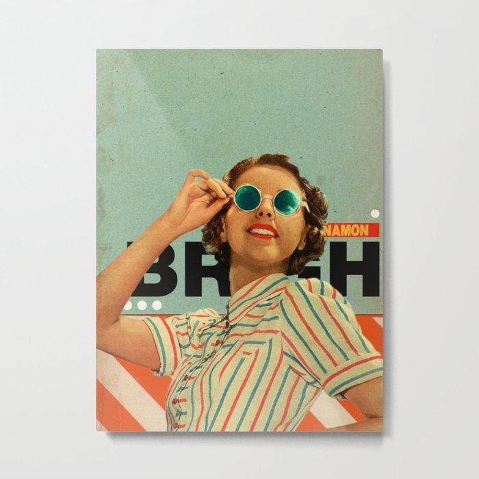 Bright Cinnamon Metal Print