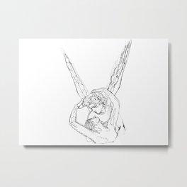 Amor & Psyche Metal Print