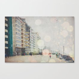 Lovely Oostende Canvas Print