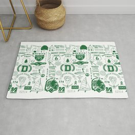 Dartmouth Massachusetts Print Rug
