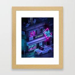 Synth Store Framed Art Print