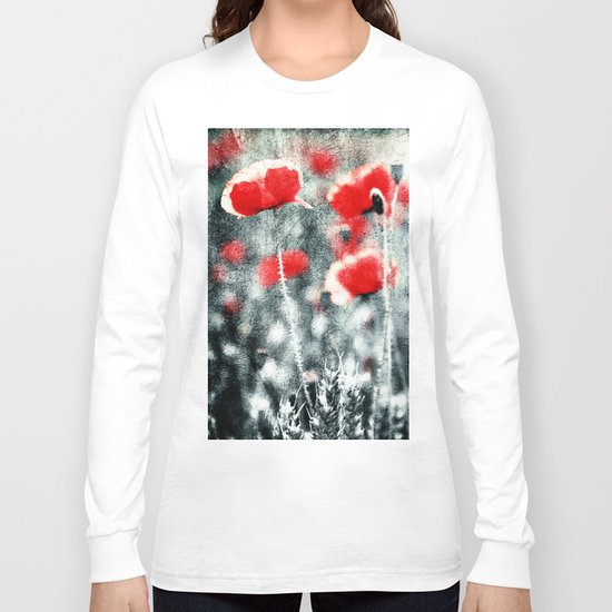 Poppy Art 3 Long Sleeve T-shirt