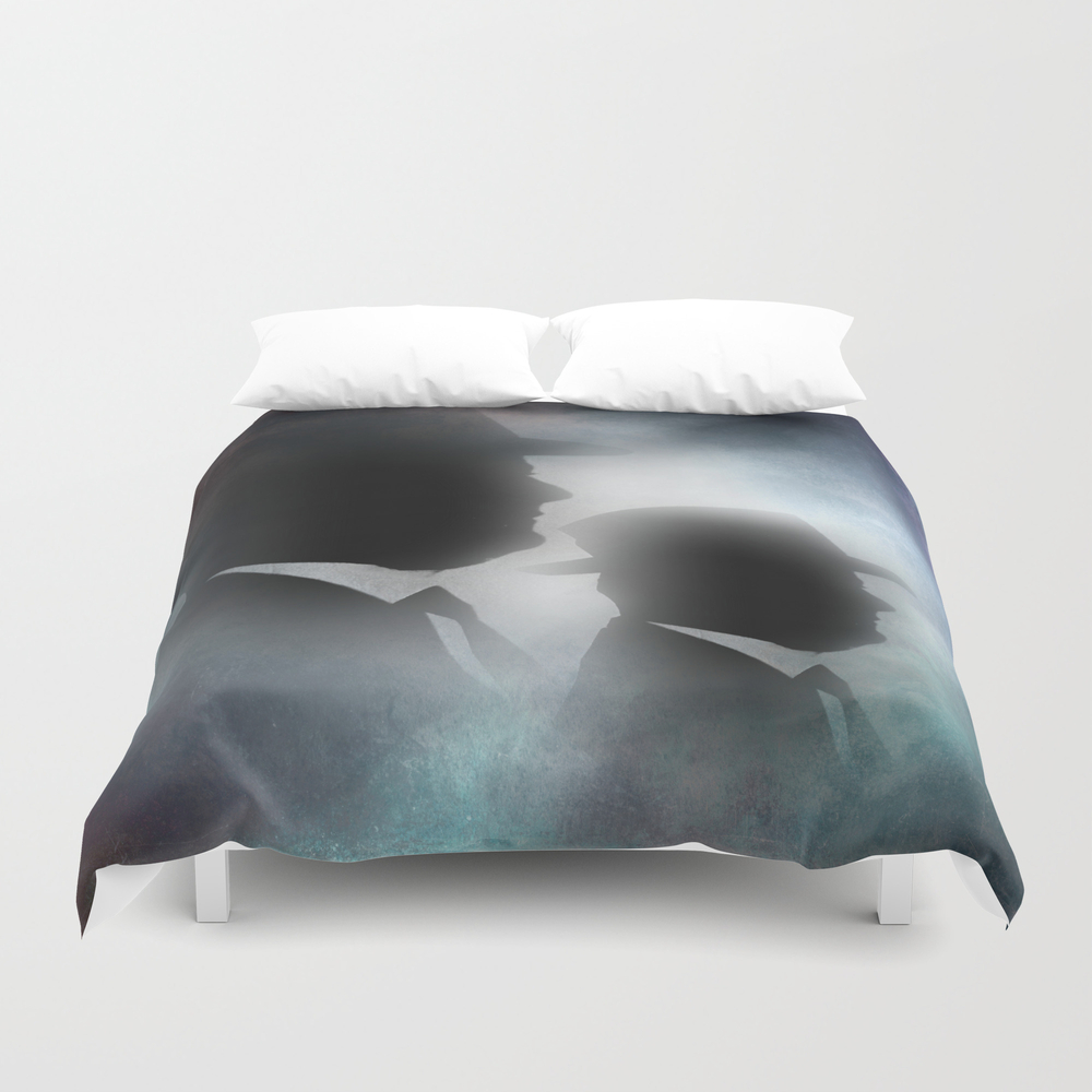 Shadow People Duvet Cover by Issabild DUV7917152