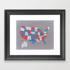 United We Stand Framed Art Print