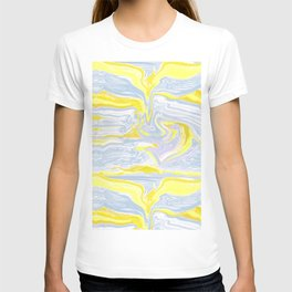 Spring soft serve marble T-shirt