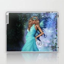 Crystal Blue Laptop & iPad Skin