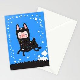 Run alpaca, run! Stationery Cards