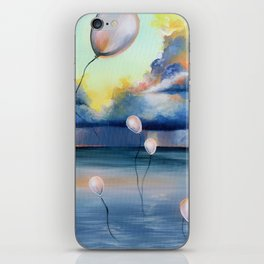 Balloons Over Water iPhone Skin