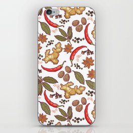 Spices pattern. iPhone Skin