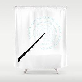 Lumos Shower Curtain
