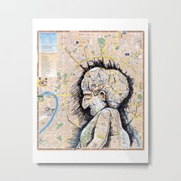 Moscow, Russia Metal Print