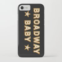 broadway iPhone & iPod Cases featuring Broadway Baby! by byebyesally