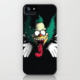 Krusty Klown iPhone Case