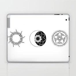 Sun Moon Star Mandalas Laptop & iPad Skin