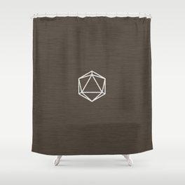 Icosahedron 1 Shower Curtain