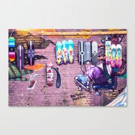 Graffiti Canvas Print