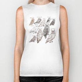 owls Biker Tank