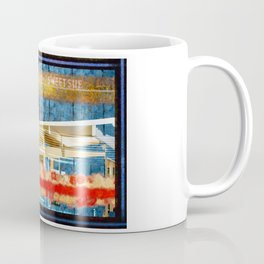 Sweet Sue In Red White And Blue Coffee Mug