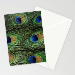 Peacock 2 Stationery Cards