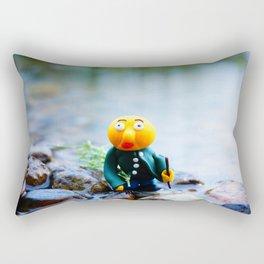 exhausted gwerg Rectangular Pillow