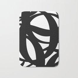 Hidden Letters. Baskerville Q Bath Mat