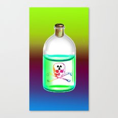 Nuclear poison Canvas Print