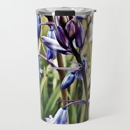 Bluebells, Magical Flowers Of Spells Travel Mug