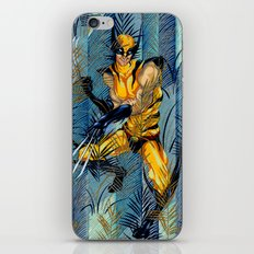 Wolverine Japan Forest iPhone Skin