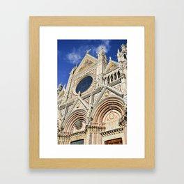 Duomo di Siena, Italy Framed Art Print