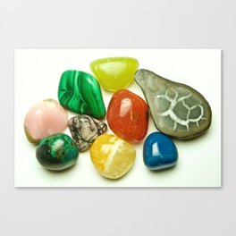 Cheerful Stones - The Peace Collection Canvas Print