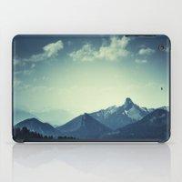mountains iPad Cases featuring Mountains by Koka Koala