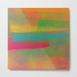Nebulosa de Cores Metal Print