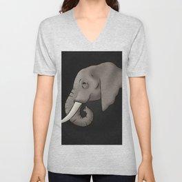 Elephant Ivory Unisex V-Neck