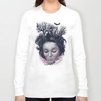 laura palmer Long Sleeve T-shirts featuring Laura by Jorge Garza