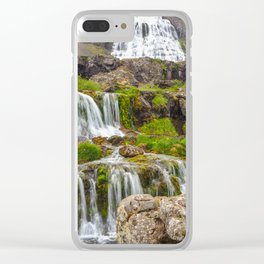 Dynjandifoss, Iceland Clear iPhone Case