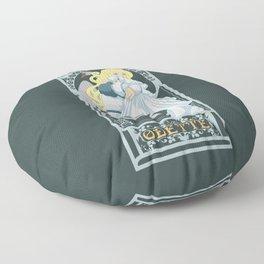 Odette Nouveau - Swan Princess Floor Pillow