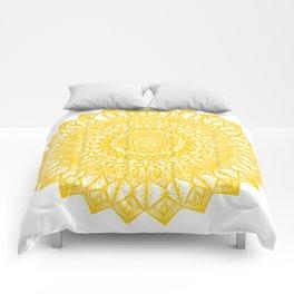 Sunshine-Yellow Comforters