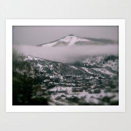 Foggy Blanket Art Print
