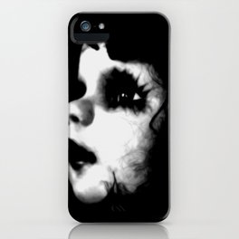 Creepy Doll Face iPhone Case