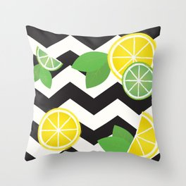 Simply the Zest Throw Pillow