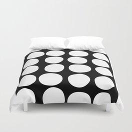 Dots black n´white Duvet Cover