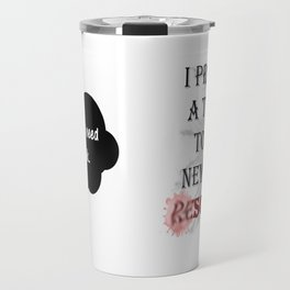 New Year's Resolutions Travel Mug