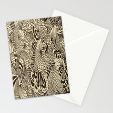 Doodles and Swirls II Stationery Cards