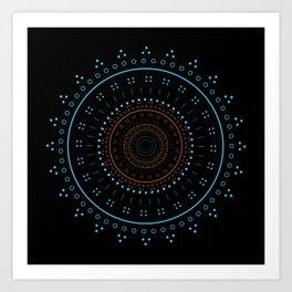 LineCircle101 Art Print