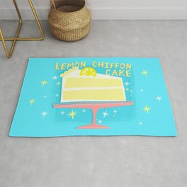 All American Classic Lemon Chiffon Cake Rug